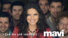 Adriana Lima Mavi Reklamı..!