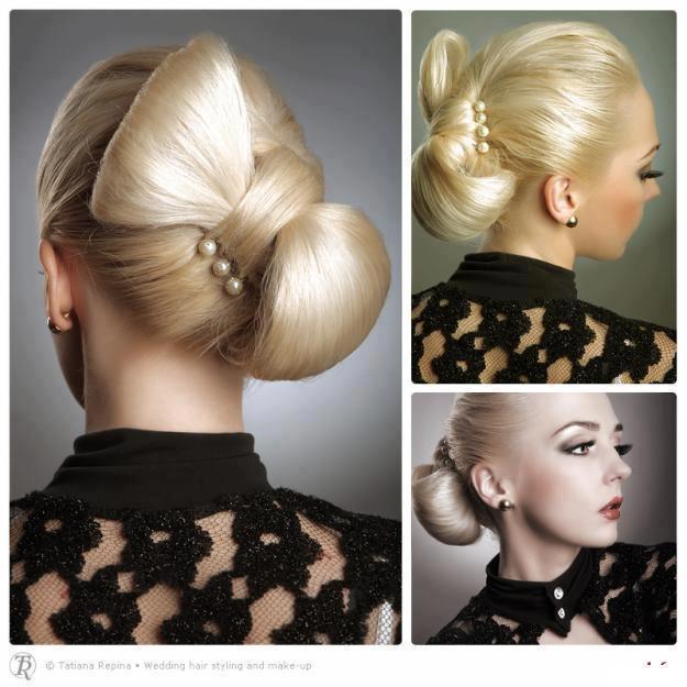 Gelin saçı modelleri - 1