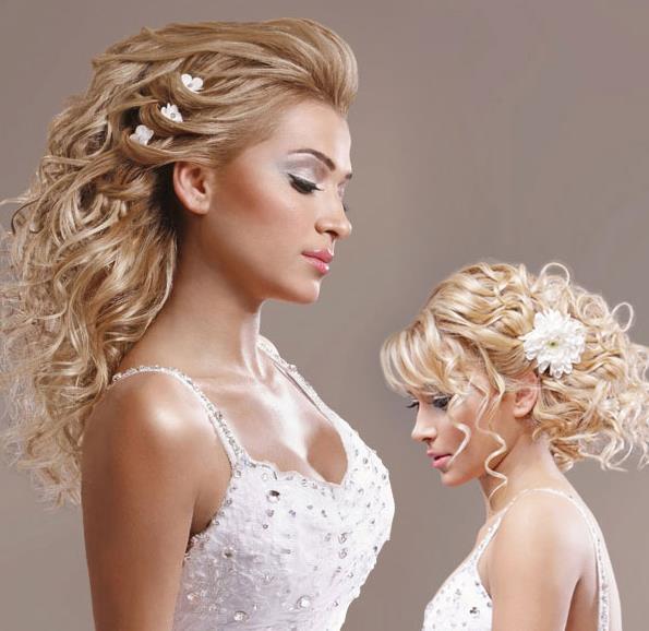 Taçlı Gelin Saç Modelleri - 4