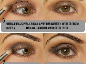 Dumanlı Göz Makyajı - 3