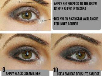 Dumanlı Göz Makyajı - 4
