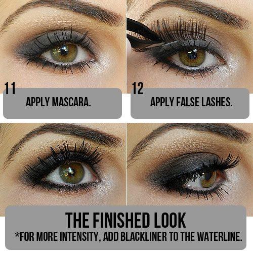 Dumanlı Göz Makyajı Yapılışı