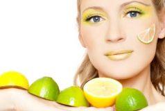 Yağlı Ciltlere Karşı Limon Maskesi