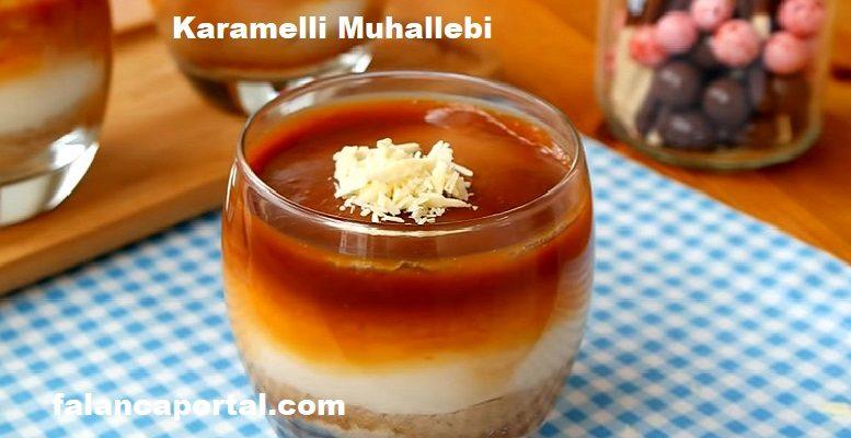 Sütlü Karamelli Muhallebi 1