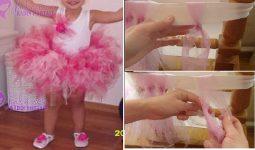 Tütü Çocuk Elbise Yapılışı 3