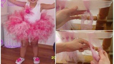 Tütü Çocuk Elbise Yapılışı
