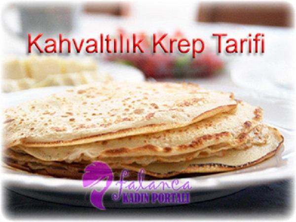 Kahvaltilik Krep Tarifi