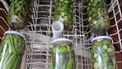 Bulaşık Makinesinde Turşu Yapımı