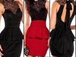 2015 Siyah Elbise Modasi 02