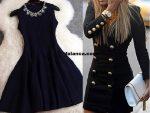 2015 Siyah Elbise Modasi 3