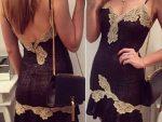 2015 Siyah Elbise Modasi 5