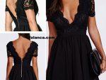 2015 Siyah Elbise Modasi 7