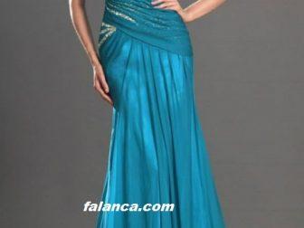 2015 Yeni Abiye Modelleri Mavi
