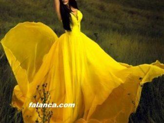 2015 Yeni Abiye Modelleri Sari