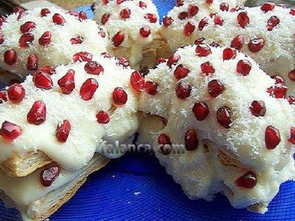Milföylü Karlı Dağ Pastası