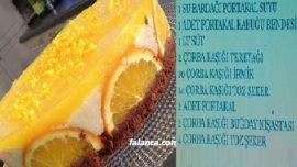 Portakal Sulu İrmik Tatlısı