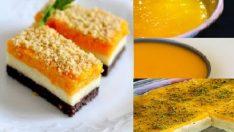 Portakallı Bisküvili irmik tatlısı
