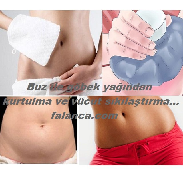Buz İle Karın Yağı Eritme Ve Vücut Sıkılaştırma