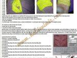 Yaprak Deseni Çorap Patik - 6