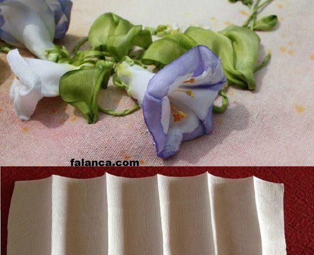Kurdele İşi Sarmaşık Çiçeği Resimli Yapılışı