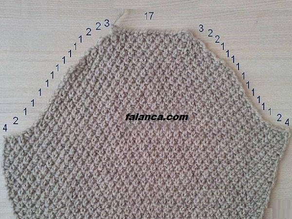 Вязание крючком для начинающих рукава для кофты