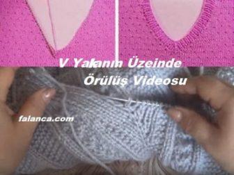 V Yakayı Üzerinde Yapma Videosu