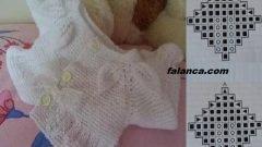Yaprak Robalı Bebek Bolero Tarifi