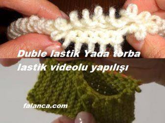 Torba Lastik Yada Duble Lastik Videolu Yapılışı