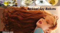 Bitkisel Saç Bakımı