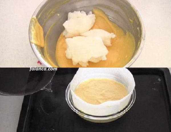 Üç Malzemeli Cheese Kek Tarifi 4