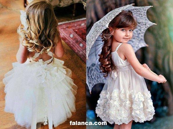 Çocuk Gelinlik Modelleri 1