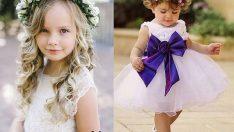 Çocuk Gelinlik Modelleri