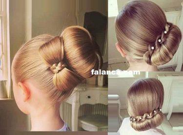 Çocuk Saç Topuzları