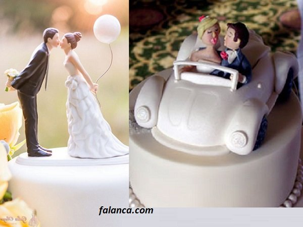Düğün Pasta Süsleri 2
