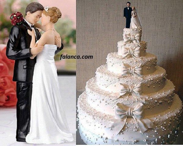 Düğün Pasta Süsleri 7