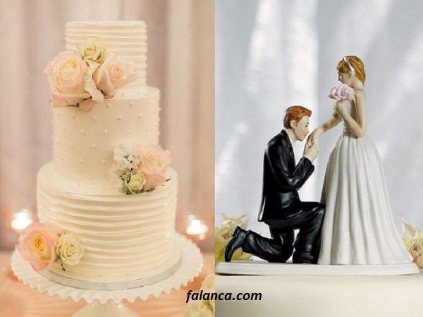 Düğün Pasta Süsleri 5