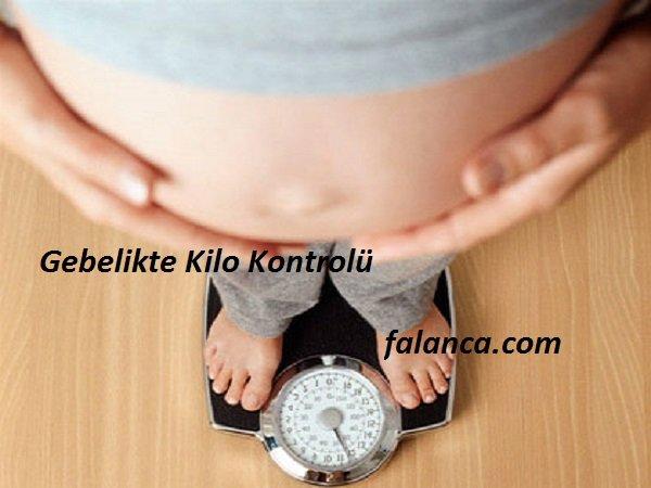 Gebelikte Kilo Kontrolü