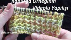 Bebek Örgüsü Kaburga Örneği Video