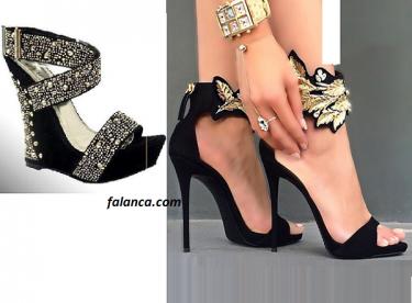 Yeni Abiye Siyah Ayakkabılar