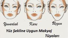 Yüz Şekline Göre Makyaj Tüyoları