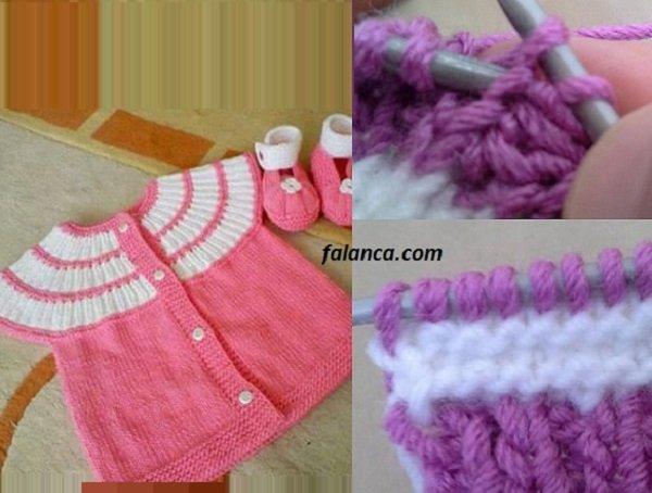 robalı bebek yelek fikirleri 8
