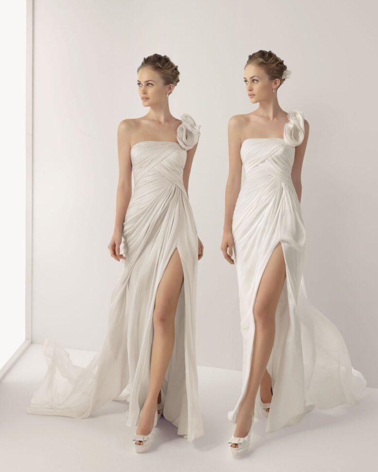 Bacak Dekolteli Jacqueline Gelinlik Modelleri 2