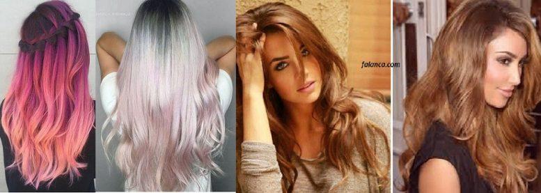 Yeni Ombre Saç Modelleri