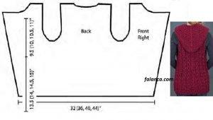 Tek Parca Kapsonlu Ceket Onlu Yelek Modeli 2