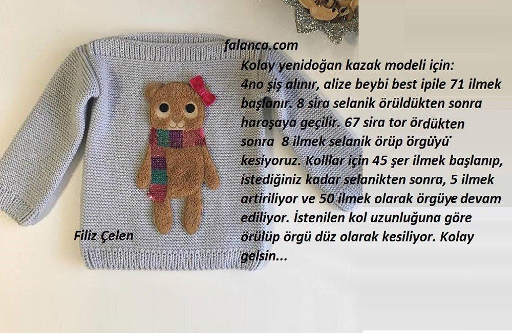 Kolay Yenidoğan Kazak Modeli