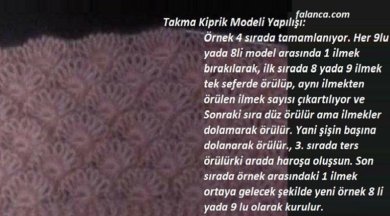 Takma Kirpik Modeli
