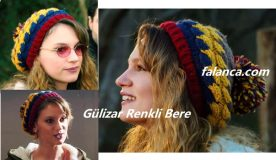 Gülizar Renkli Bere Modeli