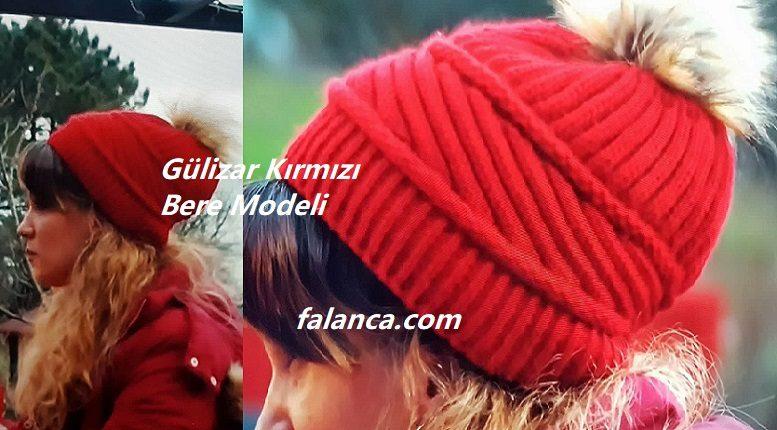 Gülizar Kırmızı Bere Modeli