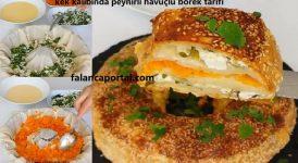 Kek Kalıbında Peynirli Havuçlu Börek Tarifi 1