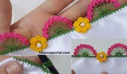 Çiçekli Kalem Oyası Yapımı 1